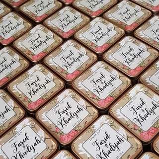 Wedding Favor / Door Gift / Berkat
