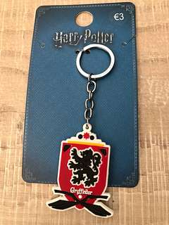 Brand New Auth Primark Gryffindor School Crest Keychain