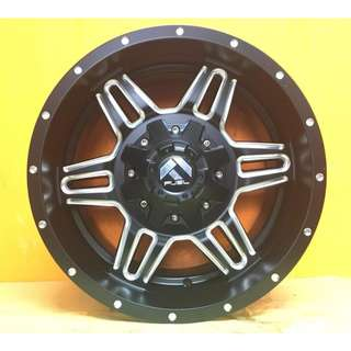 SPORT RIM 4X4 17inch FUEL DESIGNS WHEELS