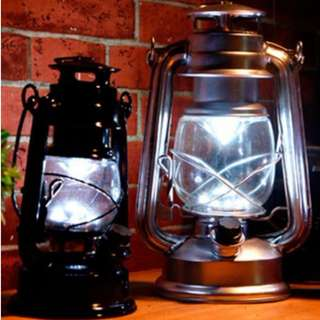 Vintage Oil Lamp (LED Light)