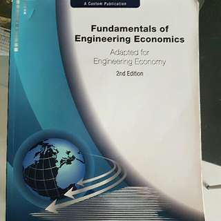 Engineering Economics Book