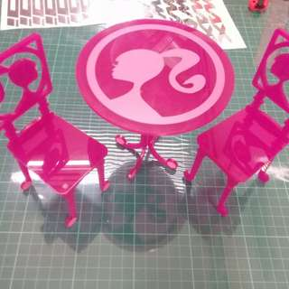 DINING SET FOR BARBIE