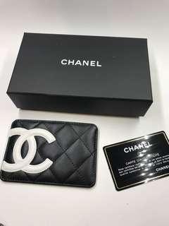 Chanel  Cambon 系列咭片套粉紅色內裡全新購自巴黎