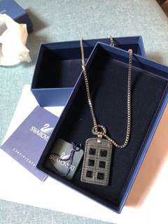 Swarovski necklace for men -super cool