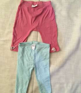 Charity Sale! Set if two Baby girl tights Marquise and Target Size 6-12 Months