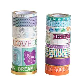 Mix 3 Washi Tape Tube by Recollections