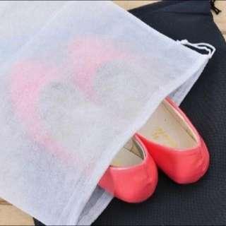 5pcs x 27*35cm Non Woven Shoes Dust Bags Drawstring Storage Jewellery Accessories Bag