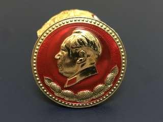 「文革精品」红色收藏《毛主席像章》