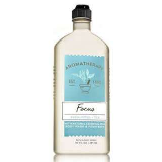 Aromatherapy by Bath and Body Works Focus Eucalyptus and Tea Body Wash