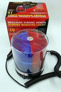 Led Flash Strop Light(Red/Blue)