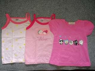 Baby girl's tops