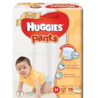 Huggies Gold Pants Size M / L / XL / XXL Individual Pack Sale