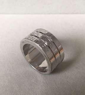 "Pianegonda 925 Sterling Silver ""XXI CENTURY"" ring"