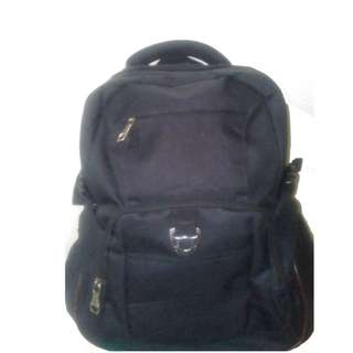 Backpack Travel School Color Black Bag