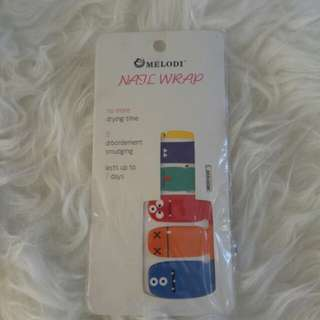 NAIL STICKER 3pax - Sticker kuku bagus berkualitas import