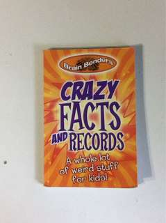 Crazy facts and records book