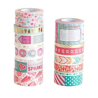 Mix 1 Washi Tape Tube by Recollections