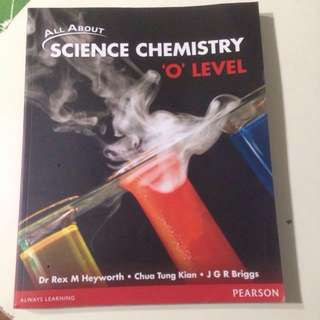Science Chemistry 'O' Level Textbook