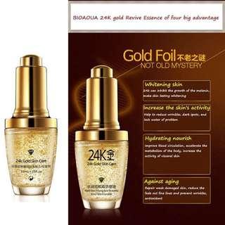 BIOAQUA 24K GOLD SKIN CARE ANTI AGEING WRINGKLE ESSENCE
