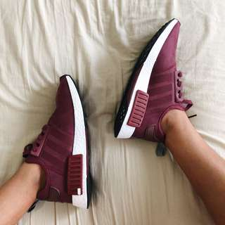 🐙 NMD R1 Boost Maroon