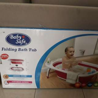 Baby bath tub Baby Safe, ex kado, new only 400rb, harga di babyshop 500-600rb