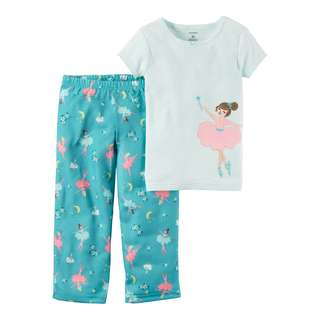 AUTHENTIC CARTER'S 2-Piece Cotton & Jersey PJs