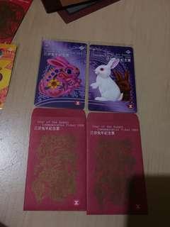 地鐵港鐵MTR 1999年已卯兔年紀念票