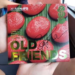 """Royston Tan """"Old Friends"""" autographed DVD"""