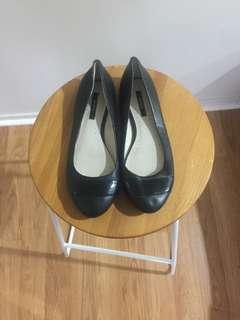 Marcs Leather Womens Flats