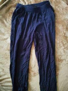 H&M Navy Loose  Pants