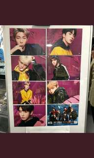 BTS FACE YOURSELF <TOWER RECORDS SHIBUYA> LIMITED FLYER