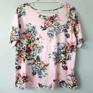 ➕Plus Size Floral Top