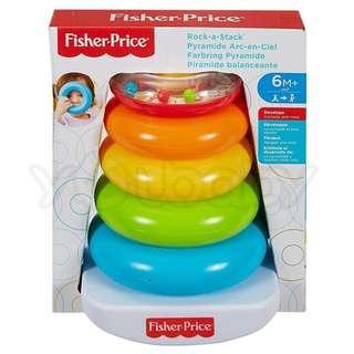 費雪Fisher Price 疊疊樂彩虹套圈圈