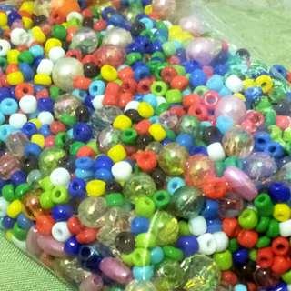 🚚 串練用珠子 手做材料 DIY串珠 珠珠 整包超過1000