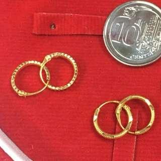 916 Gold Earring *Raya Promo*