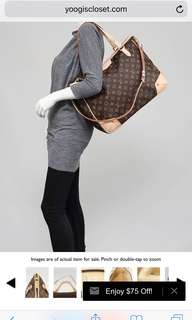 Louis Vuitton LV Estrella MM with dustbag and strap only