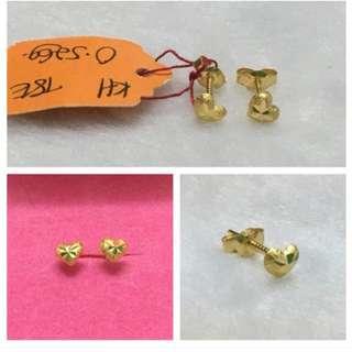 916 Gold Earring *Raya Offer*