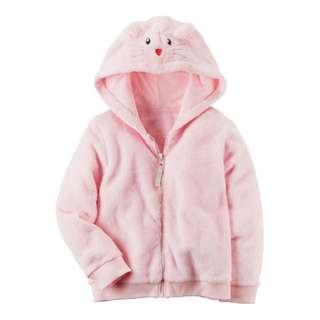 AUTHENTIC CARTER'S Fuzzy Mouse Hoodie