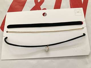 Brand New Auth H&M Choker Set