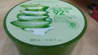 Nature Republic ALOE VERA Shooting Gell 100% Asli Korea