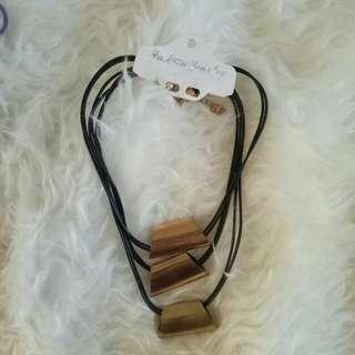 Kalung Wanita - Gold Pipe - Baru - Women Necklaces utk Pesta murah