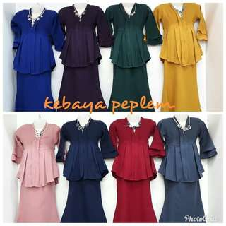(Revised price) Kebaya Peplum