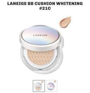 Laneige BB Cushion Whitening No. 21C