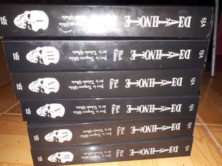 Death Note black edition (complete set) vol. 1-6