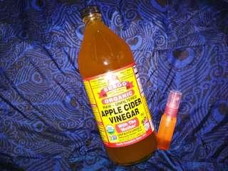 Toner cuka apel (brag cider vinegar)