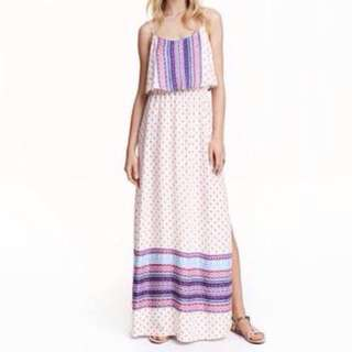 H&M Divided Patterned Maxi Dress