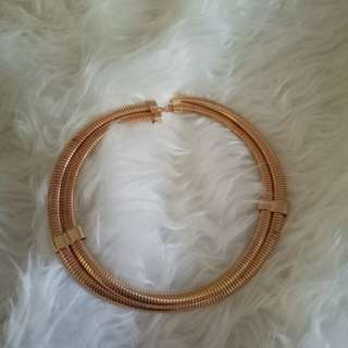 Gold Necklace - Golden - Kalung warna Emas Round Necklace