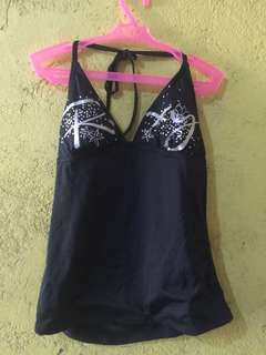 Swimsuit tankini with shorts