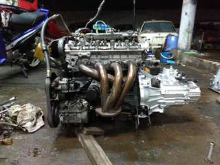 Blacktop 6 Speed Gearbox 4AGE