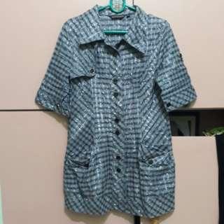 B1T1 Striped Ash 3/4 sleeves
